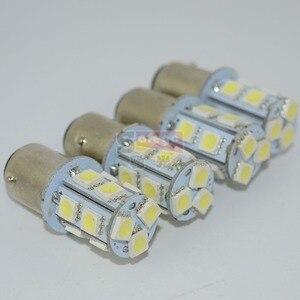 Image 4 - Safego 10pcs P21W 1156 1157 LED Turn Signal Bulb 5050 13 SMD S25 BAY15D BA15S Car Brake Tail Lights Parking Light 12V White