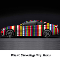 Over 200 kinds Camouflage Vinyl Car Wrap Decorative Auto Sticker Motorcycle Scooter DIY Decal Wraps 5m/10m/15m/20m/25m/30m