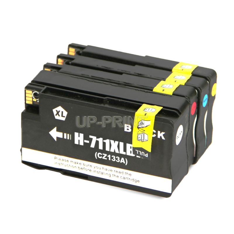 UP 10PK compatible for HP 711 711XL ink cartridges For 711 Designjet T120 T520 printer with chip full ink
