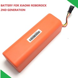 New Original Replacement Battery for XIAOMI ROBOROCK Vacuum Cleaner S50 S51 Accessory Parts