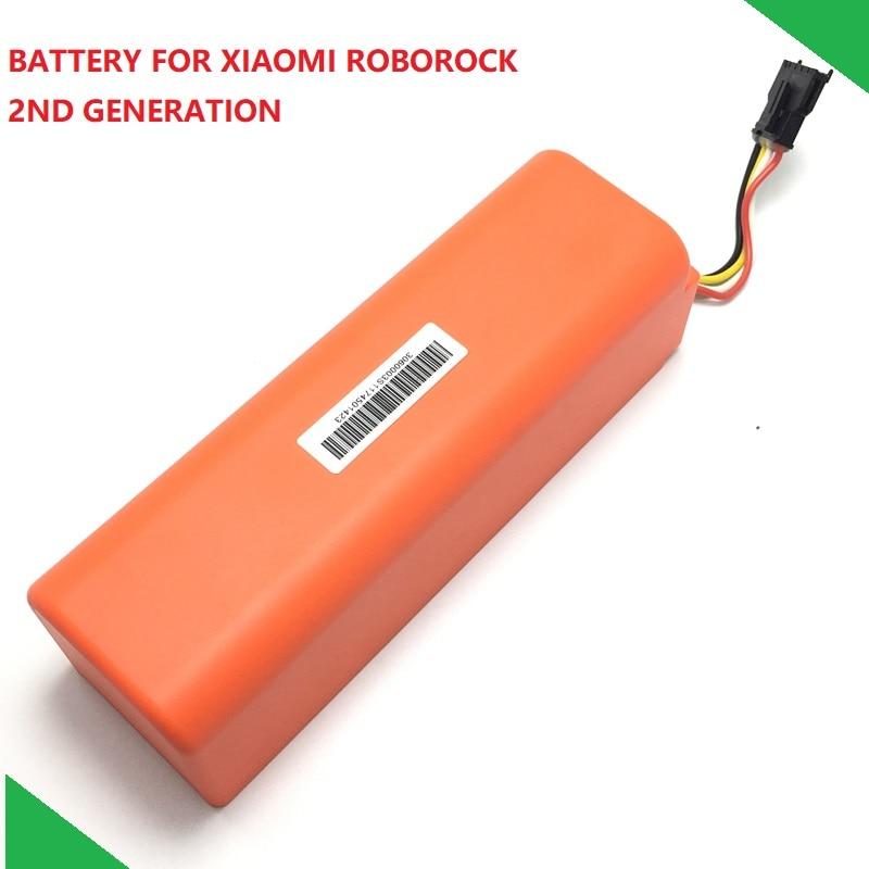 Nova Substituição Da Bateria Original para XIAOMI ROBOROCK Aspirador S50 S51 Peças Acessórias