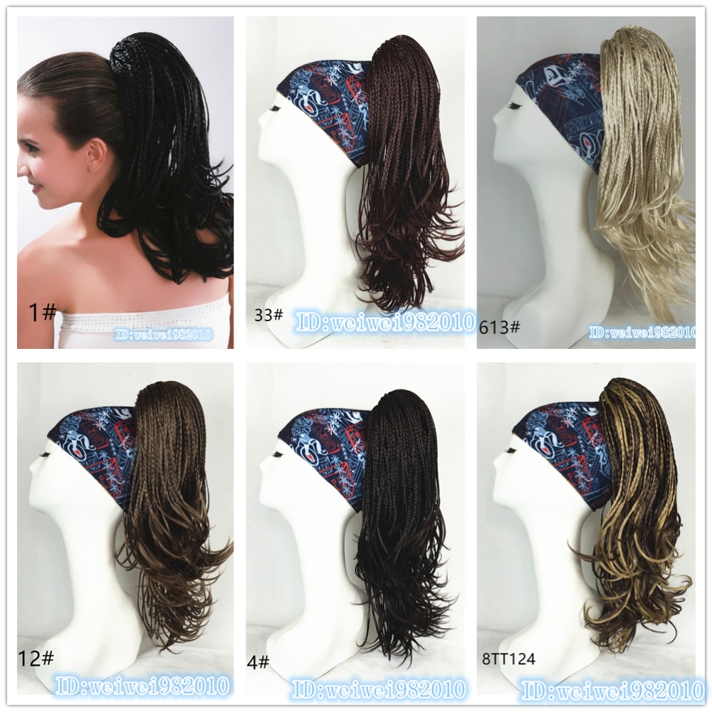Weave Ponytail Hairstyles Box Braids Claw Clip Ponytail Clip On