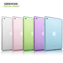 2017 recién llegado de tablet case para apple ipad mini 4 casos silicio delgado ultra fino cristal claro transparente tpu soft case cubierta
