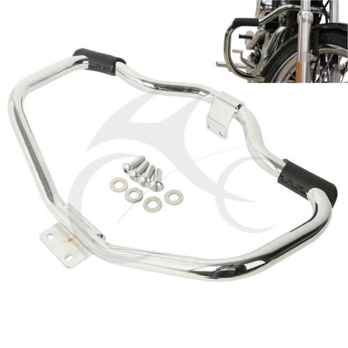 Motorcycle Moustache Highway Engine Guard Crash Bar voor Harley HD Sportster XL 1200 883 04-18 Iron 883 09-18 48 XL