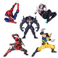 16cm Univers Super Heros Deadpool venin araignée homme araignée gwen fer homme magnéto Carnage Joint mouvement Action figurine jouets