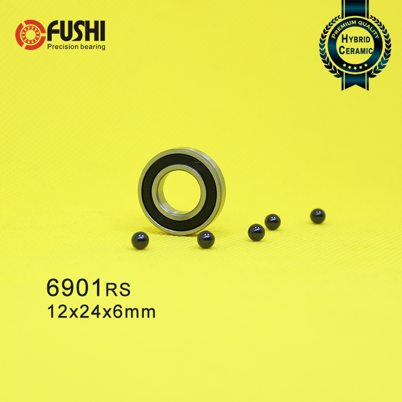 6000 Ceramic Ball Bearing High Precision Full Ceramic ZrO2 Bearing 10x26x8mm