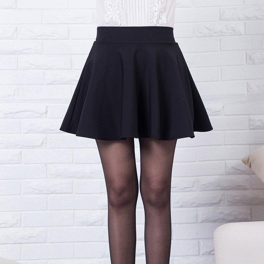 838769ae94 Aliexpress.com  Comprar Nuevo faldas para mujer 2019 nuevo estilo vintage  casual niñas faldas para la escuela rojo plisado falda de cintura alta plus  tamaño ...