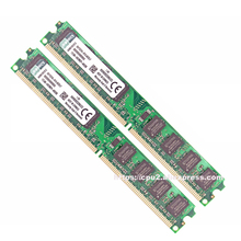 Original intel DDR2 2 GB RAM PC2-6400 DDR2 4 GB = 2 unids * 2G 800 M 800 MHZ SO-DIMM de 4 GB de memoria RAM de escritorio