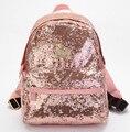 Saco stacy venda quente mulheres mochila de couro menina brilhar paillette senhoras bolsa das senhoras pequeno saco de viagem ocasional bolsa escola estudante