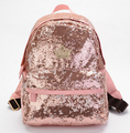 stacy bag hot sale women leather backpack girl shine paillette bag ladies ladies small casual travel bag student school bag