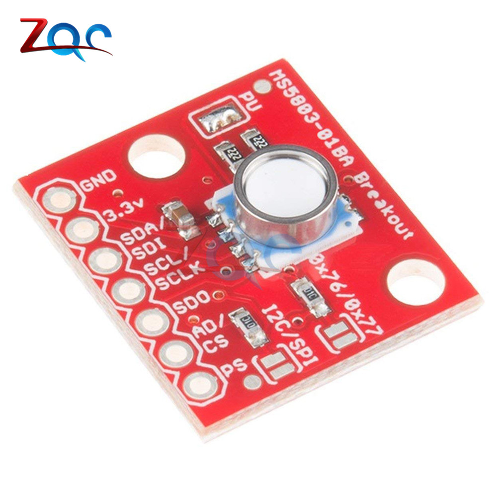 Original 	MS5803-01BA MS5803 01BA High Precision Fluid Liquid Gas Voltage Sensor Module Waterproof I2C/SPI Pressure Sensor Board