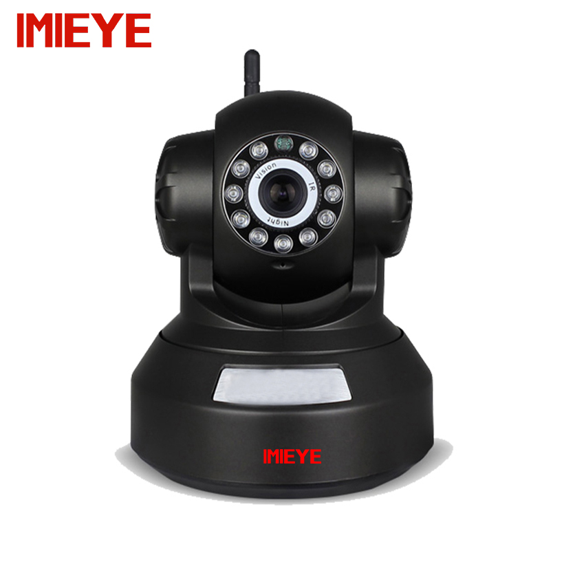 IMIEYE 1MP Wireless IP Wifi Camera Mini Home Security Surveillance TF Card Alarm CCTV With IR Night Vision Video PTZ Onvif Audio smart mini camera wifi support two way audio night vision sd card onvif motion detect camera with wifi for home security