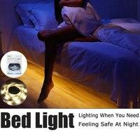 Taśmy LED Light Night Inteligentne Włącz OFF fita de doprowadziła luz bandeau wodoodporna SMD2835 led Sypialnia Taśma LED czujnik ruchu pir światło
