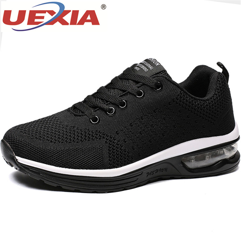 UEXIA Unisex Casual Shoes Men Breathable Fashion Sneakers Man Shoes Tenis Masculino Zapatos Hombre Sapatos Outdoor Plus Big Size
