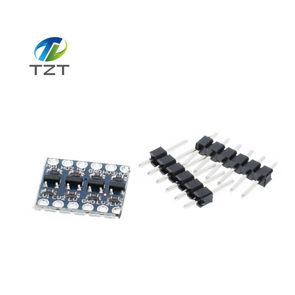 20pcs 4 channel iic i2c logic level converter bi directional module 5v to 3 3v