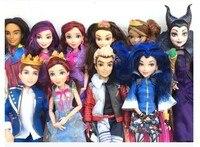 Высокое качество Male Carlos Evie Maleficent куклы модные суставы мультфильм модель фигурка игрушка для девочек подарок Классические игрушки