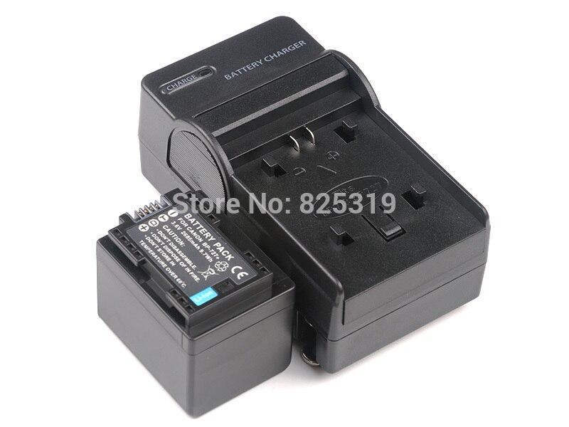 3.6 V BP-727 Batterie rechargeable BP727 BP 727 Caméra batteries + chargeur pour Canon LEGRIA HF R57 R306 R406 R506 R66 R606 R706 R806