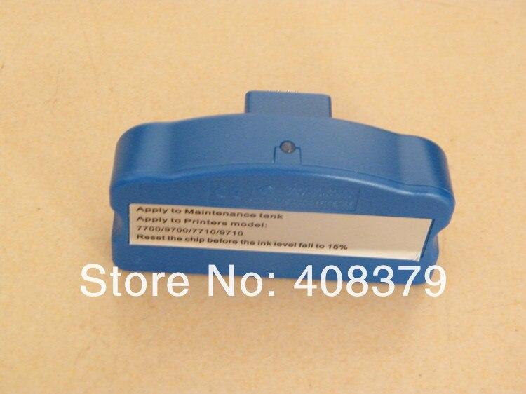 chip resetter for Epso Stylus Pro 7700 9700 printer maintenance tank waste ink tank chip resetter for epson 9700 7700 7710 9710 printers maintenance tank chip reset