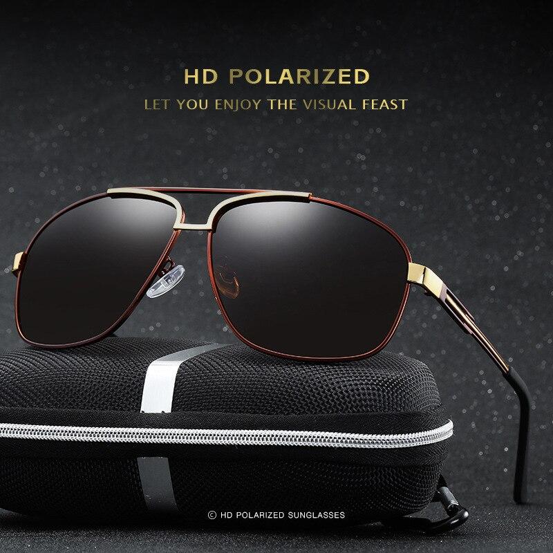 ... 2017 Marca Óculos Polarizados Homens Óculos de Sol Piloto do Sexo  Feminino Masculino Pesca Condução óculos de Sol Óculos de Design Da Marca  Clássico ... 4735ab78b7