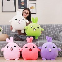 50cm Q cotton rabbit coney hand warmer pillow stuffed toys birthday gift present for children girlfriend or yourself