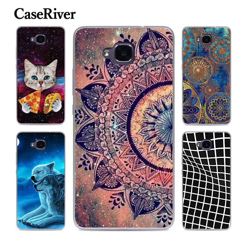 CaseRiver Soft Silicone Case For Huawei Honor 5C (Russian Version) Cover For Huawei Honor 5 C 5C RU No Fingerprint Phone Case