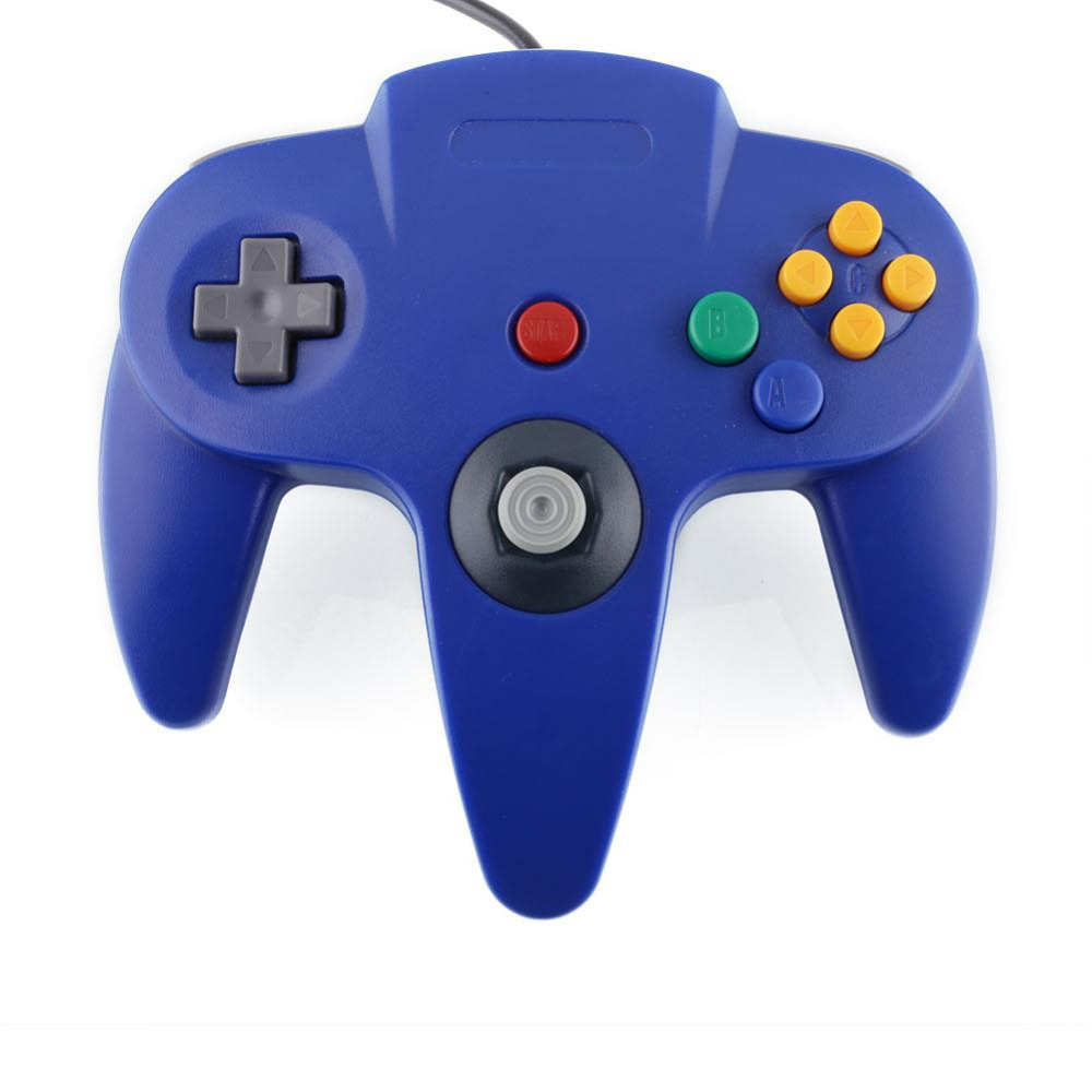 New Blue Game Gaming Handle Controller Remote Pad JoystickGame ForNint