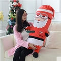 Dorimytrader 100 см Гигант Мультфильм Санта-Клаус Плюшевые Игрушки Большой Аниме Миньона Санта-Клаус Кукла Подушки Рождественский Подарок DY61349