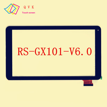 10pcs white 10.1inch RS-GX101-V6.0 J tablet pc touch screen panel  Digitizer Glass sensor replacement