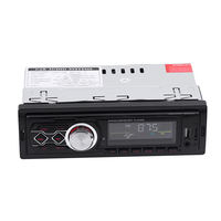 Car Handsfree Phone Calls 1 Din Car Radio 12V Car Modified Retro Style Bluetooth FM Car Radio MP3 Player Stereo USB AUX Classic