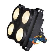 Дешевый запас 4 глаза 4*100 Вт Coolwhite/Warmwhite 2в1 COB светодиодный светильник Блиндер для зрителей сценический студийный светильник 400 Вт сценический светильник