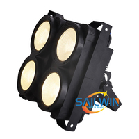 CHEAP STOCK 4 Eyes 4*100W Coolwhite/Warmwhite 2in1 COB LED Blinder Light Audience Stage Studio Light 400W Stage Light