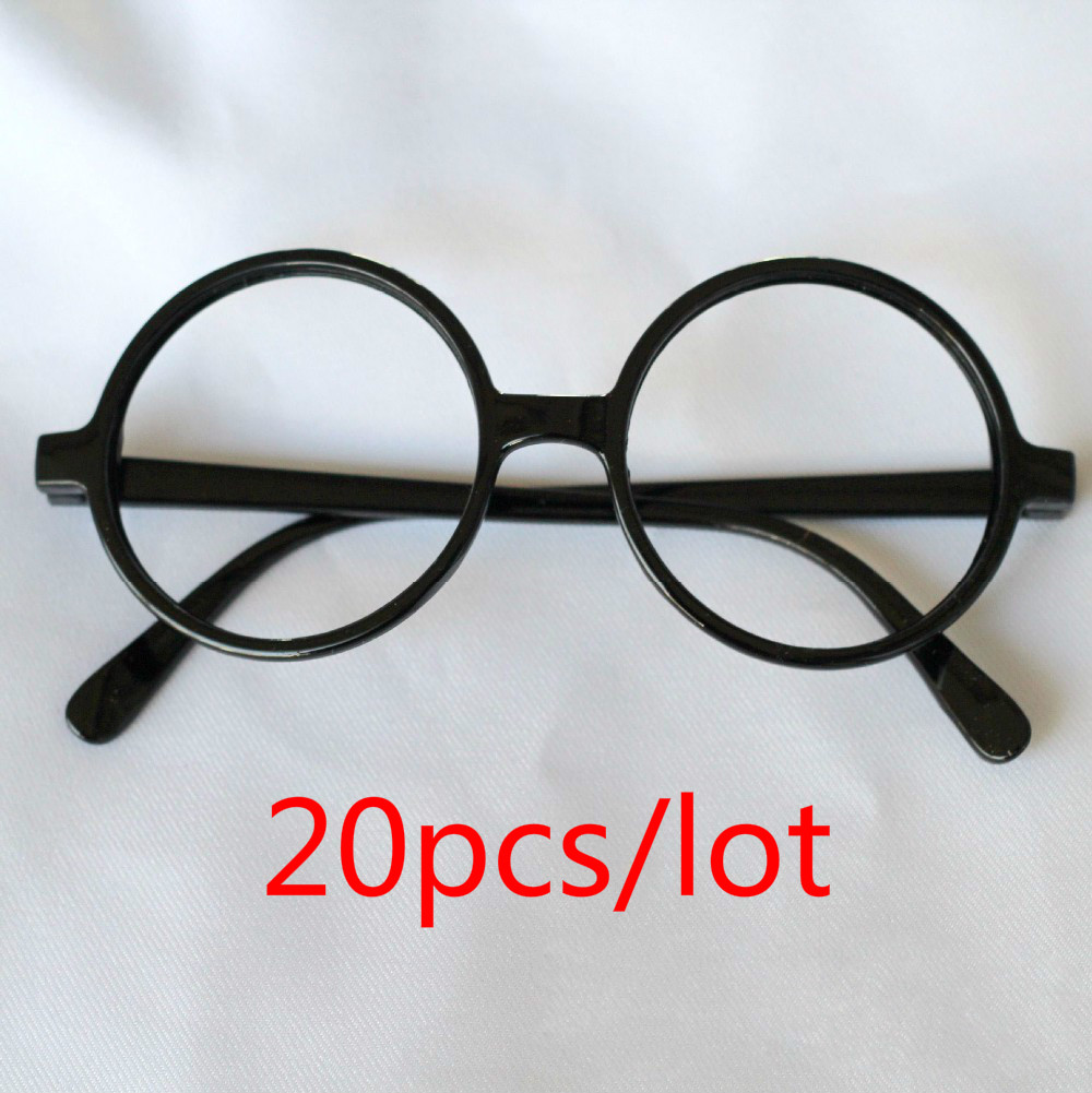 20pcs/lot Harry potter Round Frame Glasses Adult Kids Arale Eyewear