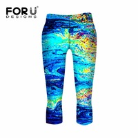 Hot Sale Spring Summer Women's Legging with Pocket Oil Graffiti Pamts Multi Color Elastic Legging Lady Casual Fitness Pants