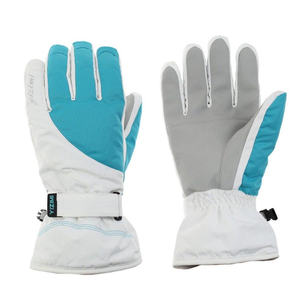 Runature Waterproof Skiing Gloves Windproof Warm Winter Snowboarding Cycling Snow Sports