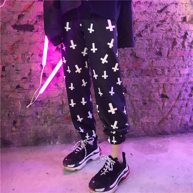 Streetwear Hiphop Harem Graphic Print Elastic Waist Jogger Pant Summer Autumn Homme Tracksuit Korean Trouser Fashion Workout New 3