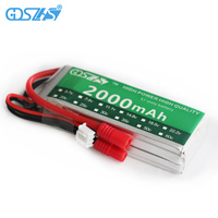 GDSZHS 7 4V 2000mAh 30C 2S Lipo Battery Banana Plug For Syma X8C Venture RC Helicopters