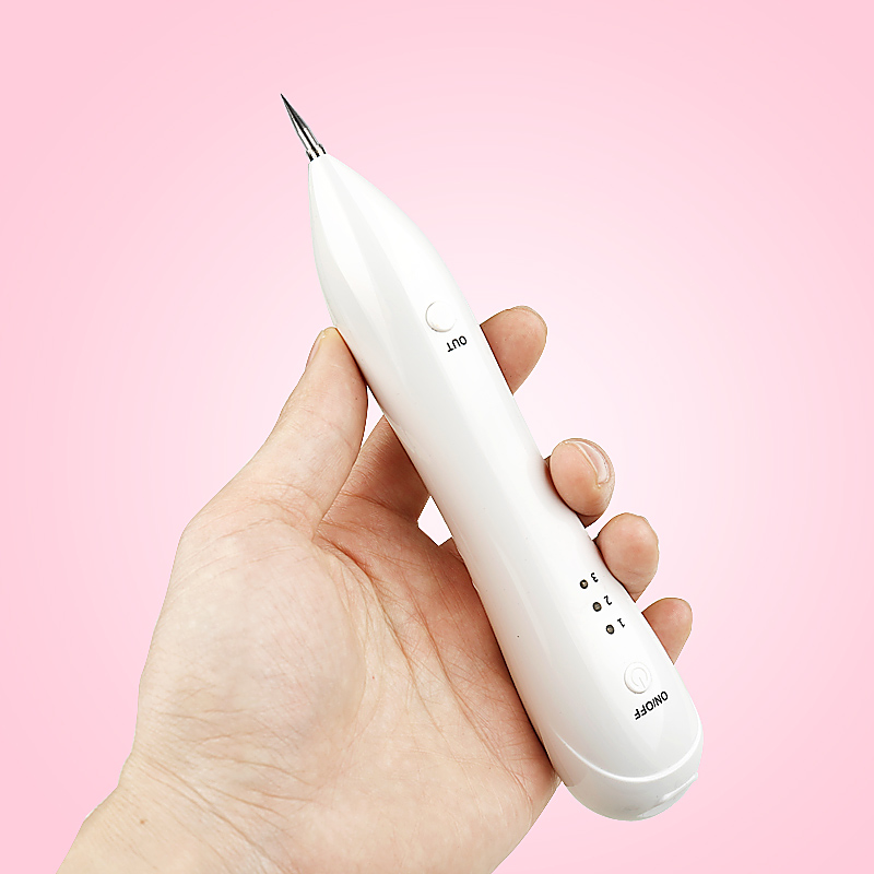 Portable Face Skin Dark Spot Remover Laser Mole Wart Removal pen Tattoo Freckle Removal Machine Facial Freckle Tag Plasma Pen 2 pcs laser freckle removal machine skin mole removal dark spot remover for face wart remaval pen salon home beauty care tool