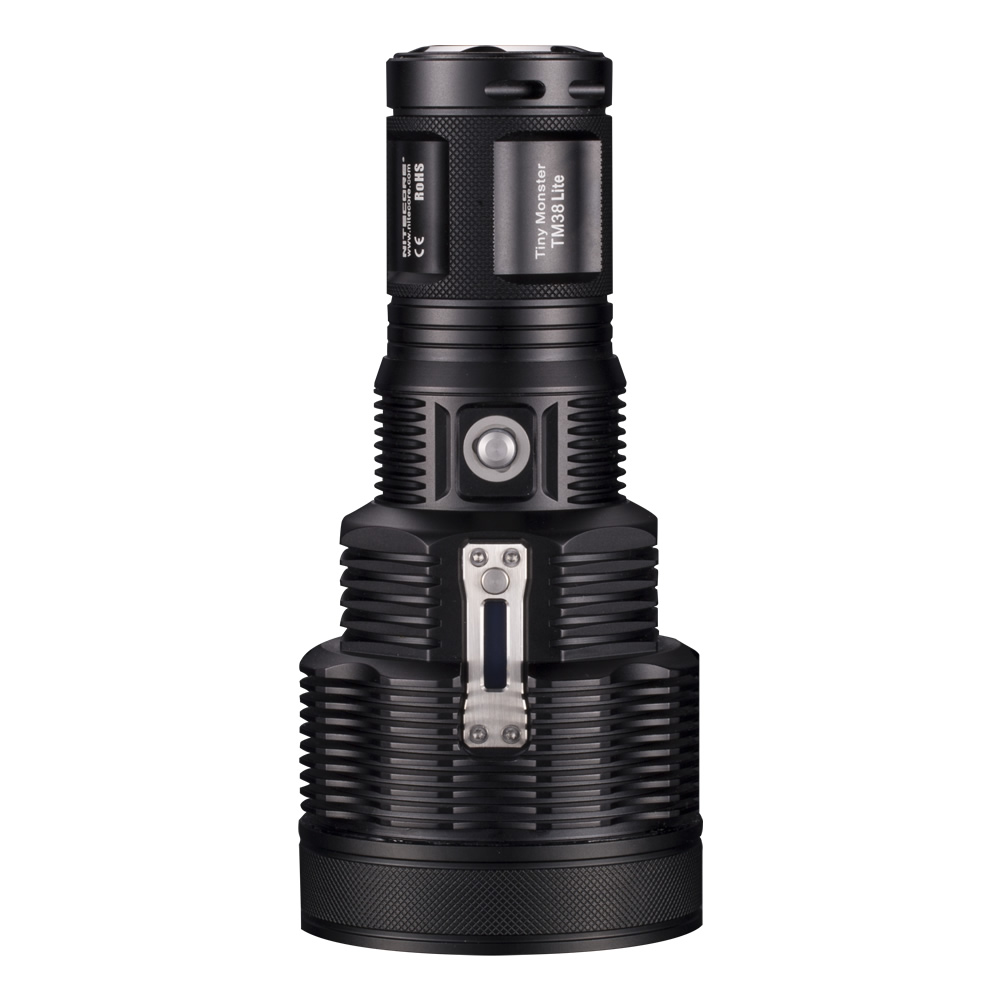 2019 NEW Nitecore TM38 Lite 1400 Meters Beam Distance Torch 1800 Lumen CREE XHP35 HI D4 LED Tiny Monster Rechargeable Flashlight-in LED Flashlights from Lights & Lighting    1