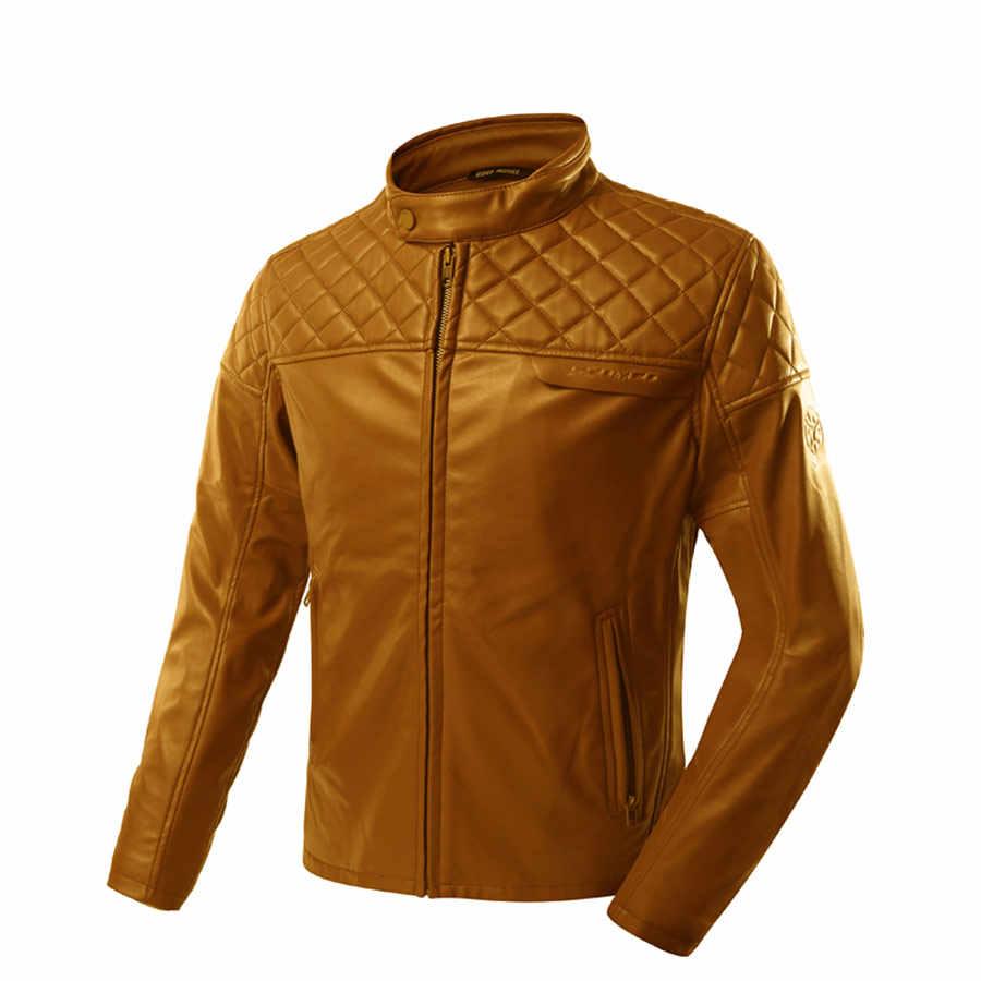 SCOYCO ветрозащитный мотоциклетная мужская куртка из микрофибры износостойкий противоударный Мотокросс гоночная одежда Защитное снаряжение JK52