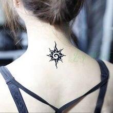Waterproof Temporary Tattoo Sticker Apollo sun totem tattoo girl man small size Water Transfer fake tattoo Flash Tattoo