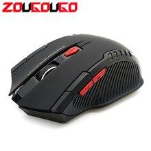 2000 точек на дюйм 2,4 ГГц беспроводной оптическая игровая мышь для ПК Игровые ноутбуки новая игра мыши Компьютерные с USB приемник Прямая доставка Mause