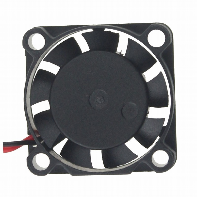 Gdstime 5 pcs 2507 Laptop Fan 25mm x 7mm 2 Pin DC Brushless Mini Cooling Fan 5V 25x25mm Small Cooler High Speed
