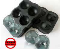 New Design 6 Hole Ice Cube Ball Drinking Wine Tray Brick Round Maker Mold Sphere Mould