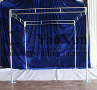 free shipping Four Corner Backdrop Curtain Pipe Stand Stent square stand pole