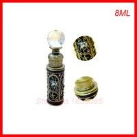 높은 품질 8 미리리터 에센셜 오일 병 향수 샘플 병 화장품 포장 유리 병 작은 pefume 분무기 용기