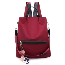 New Backpack Women Oxford Multifuction Bagpack Casual Anti Theft Backpack for Teenager Girls Schoolbag 2019 Sac A Dos mochila new backpack women oxford multifuction bagpack famous brand casual anti theft backpack for teenager girls schoolbag sac a dos