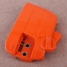 Letaosk alta qualidade embreagem roda dentada capa motosserra conjunto do freio apto para husqvarna 235 235e 236 240 350