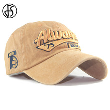 FS Snapback Sport Hip Hop Ball Hat Embroidered Outdoor Cap Men Women Golf Baseball  Caps Washed 2b3c913f1a24