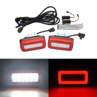 For Benz W463 Rear Bumper 2 in 1 Light For G Class G450 G500 G550 G55 AMG Led Fog Backup Reversing Lamp