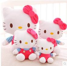2015 Hot sale Kids Cat Plush Toy,1 Pcs Cute 24cm Cat Soft Plush Toy Doll Home Sofa Decoration Decor DropShipping